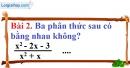 Bài 2 trang 47 Vở bài tập toán 8 tập 1