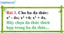 Bài 3 trang 48 Vở bài tập toán 8 tập 1