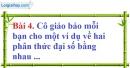 Bài 4 trang 50 Vở bài tập toán 8 tập 1