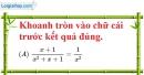 Phần câu hỏi bài 3 trang 52, 53 Vở bài tập toán 8 tập 1