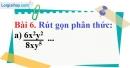 Bài 6 trang 53 Vở bài tập toán 8 tập 1