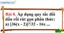Bài 8 trang 54 Vở bài tập toán 8 tập 1