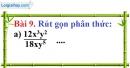 Bài 9 trang 55 Vở bài tập toán 8 tập 1