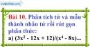 Bài 10 trang 55 Vở bài tập toán 8 tập 1