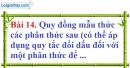 Bài 14 trang 59 Vở bài tập toán 8 tập 1