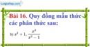 Bài 16 trang 61 Vở bài tập toán 8 tập 1