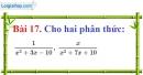 Bài 17 trang 62 Vở bài tập toán 8 tập 1