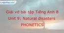 Phonetics - Trang 18 Unit 9 VBT tiếng anh 8 mới