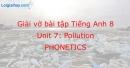 Phonetics - Unit 7 VBT tiếng anh 8 mới