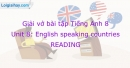 Reading - Unit 8 VBT Tiếng Anh 8 mới