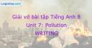 Writing - Unit 7 VBT Tiếng Anh 8 mới