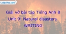 Writing - Trang 25 Unit 9 VBT Tiếng Anh 8 mới