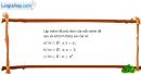 Bài 1.12 trang 9 SBT đại số 10