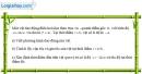 Bài 1.13 trang 5 SBT Vật Lí 12
