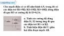 Bài 6.12 trang 18 SBT Vật lí 9