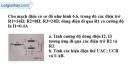 Bài 6.14 trang 18 SBT Vật lý 9