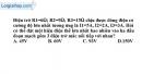 Bài 6.9 trang 17 SBT Vật lí 9