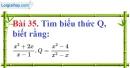Bài 35 trang 78 Vở bài tập toán 8 tập 1