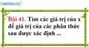 Bài 41 trang 83 Vở bài tập toán 8 tập 1