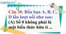 Phần câu hỏi bài 9 trang 79, 80 Vở bài tập toán 8 tập 1