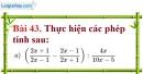 Bài 43 trang 84 Vở bài tập toán 8 tập 1