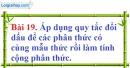 Bài 19 trang 64 Vở bài tập toán 8 tập 1