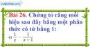 Bài 26 trang 71 Vở bài tập toán 8 tập 1