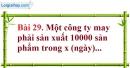 Bài 29 trang 73 Vở bài tập toán 8 tập 1