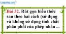 Bài 32 trang 75 Vở bài tập toán 8 tập 1