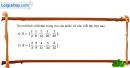 Bài 1.20 trang 11 SBT đại số 10