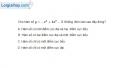 Bài 1.30 trang 17 SBT giải tích 12