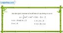 Bài 1.31 trang 17 SBT giải tích 12