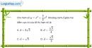 Bài 1.33 trang 17 SBT giải tích 12