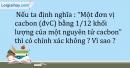 Bài 1.9 trang 4 SBT Hóa học 10