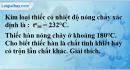 Bài 2.6 trang 4 SBT Hóa học 8