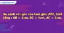 Bài 1 trang 64 Vở bài tập toán 7 tập 2
