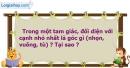 Bài 4 trang 65 Vở bài tập toán 7 tập 2