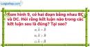 Bài 6 trang 66 Vở bài tập toán 7 tập 2