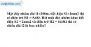 Bài 8.5 trang 22 SBT Vật lý 9