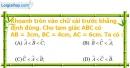 Phần câu hỏi bài 1 trang 63, 64 Vở bài tập toán 7 tập 2
