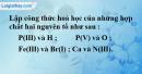 Bài 10.6 trang 14 SBT hóa học 8