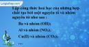 Bài 10.7 trang 14 SBT hóa học 8