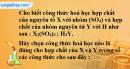 Bài 11.2 trang 15 SBT hóa học 8