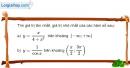 Bài 1.35 trang 21 SBT giải tích 12