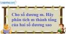 Bài 1.38 trang 21 SBT giải tích 12