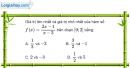 Bài 1.43 trang 22 SBT giải tích 12