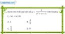 Bài 1.45 trang 22 SBT giải tích 12