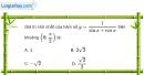 Bài 1.46 trang 22 SBT giải tích 12