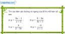 Bài 1.47 trang 24 SBT giải tích 12