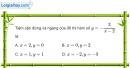 Bài 1.52 trang 25 SBT giải tích 12